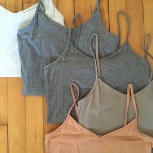 Forever 21 Tops - Forever 21 V-neck Camisole Bundle of 5 Size Med